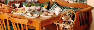 Frühstücken in Büsum